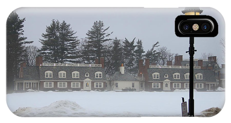 Wicked New England Photography IPhone X Case featuring the photograph Winters Light by Michael Mooney
