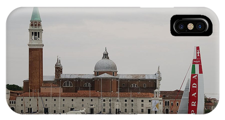 Acws IPhone X Case featuring the photograph Acws In Venice by Lorenzo Tonello