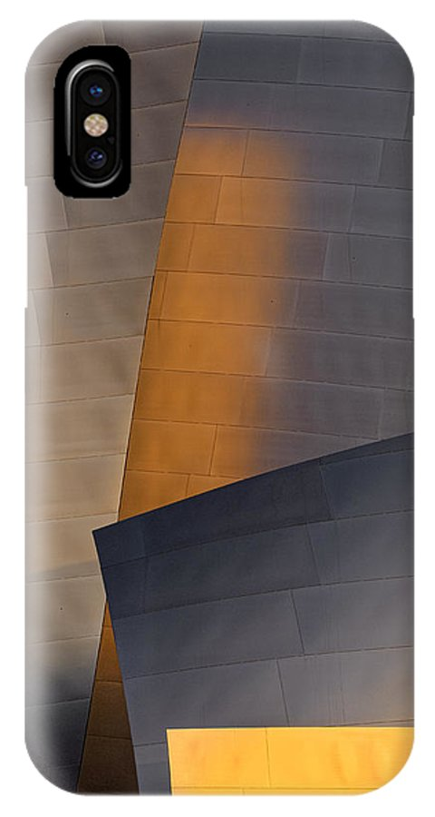 Gehry IPhone X Case featuring the photograph Disney Concert Hall by Robert Jensen