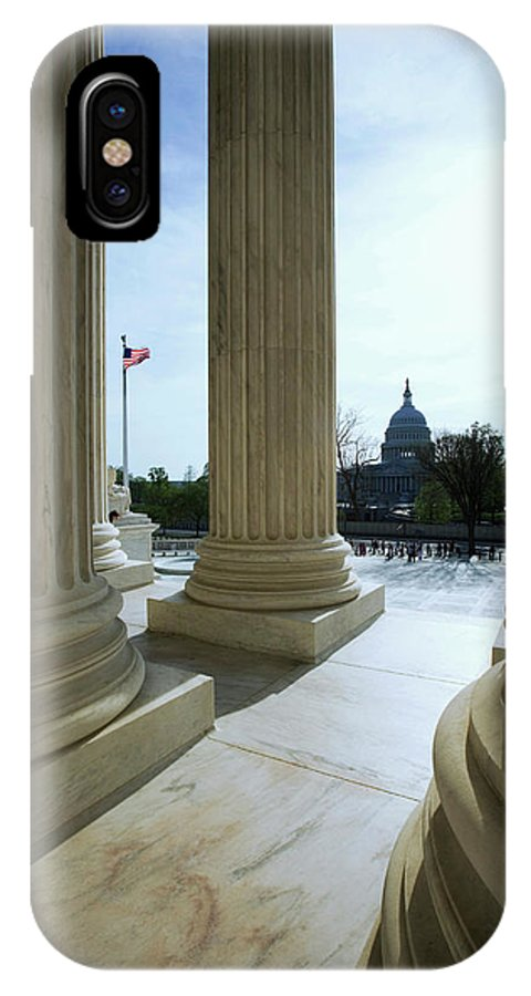 Capitol Building IPhone X Case featuring the photograph Usa, Washington, D by Jaynes Gallery
