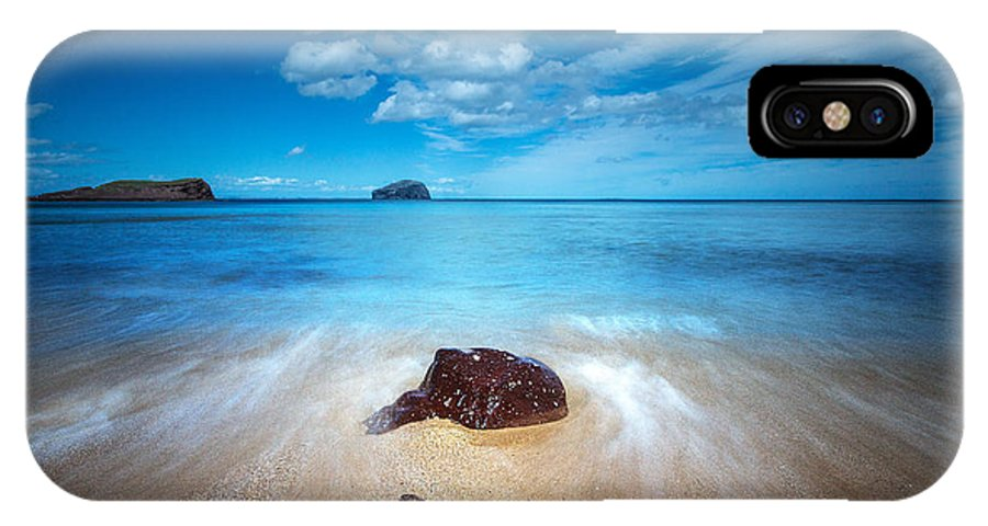 Bass Rock IPhone X Case featuring the photograph Bass Rock by Keith Thorburn LRPS EFIAP CPAGB