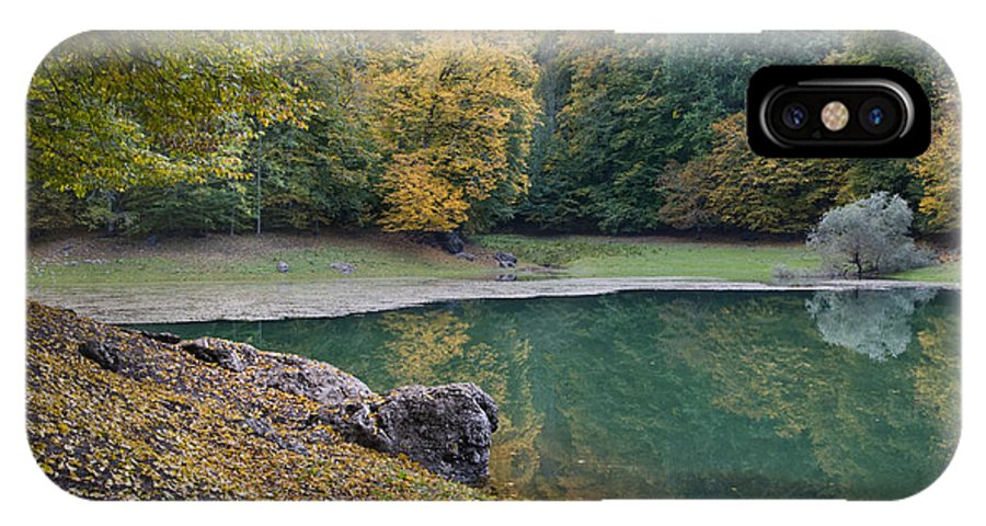 Anatolia IPhone X Case featuring the photograph Fall Colours by Ayhan Altun