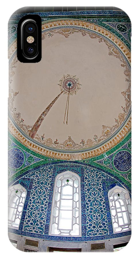 Topkapi Sarayi Palace IPhone X Case featuring the photograph Topkapi Sarayi Palace Istanbul Turkey by Dray Van Beeck