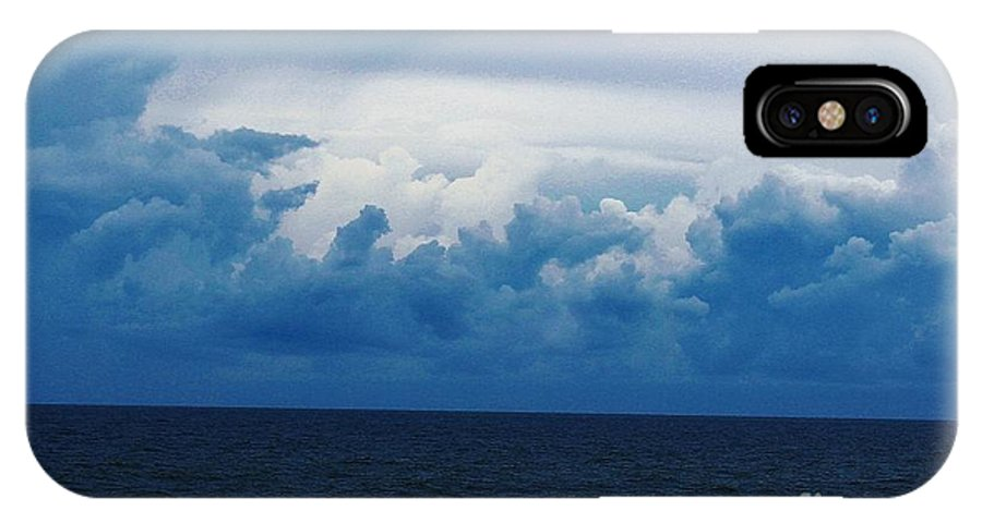 Ocean IPhone X Case featuring the photograph 11032013017 by Debbie L Foreman