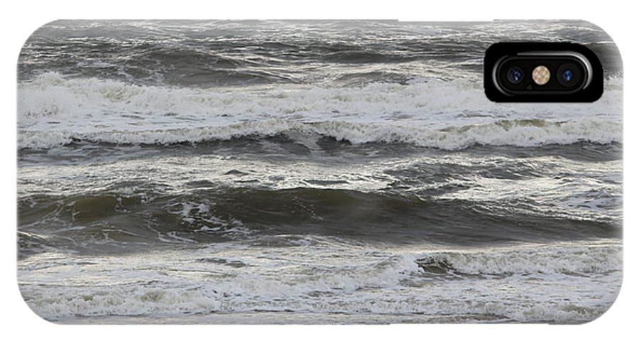 Ocean IPhone X Case featuring the photograph 11032013019 by Debbie L Foreman
