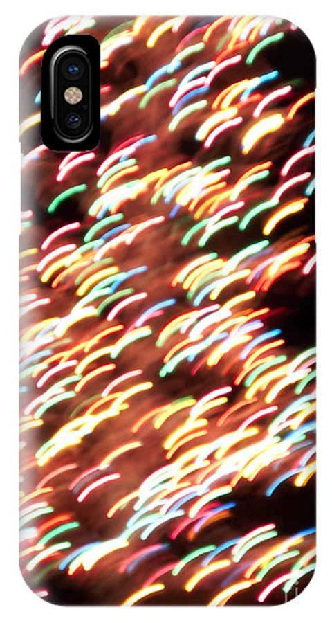 Abstract IPhone X Case featuring the photograph Abstract by Tony Cordoza