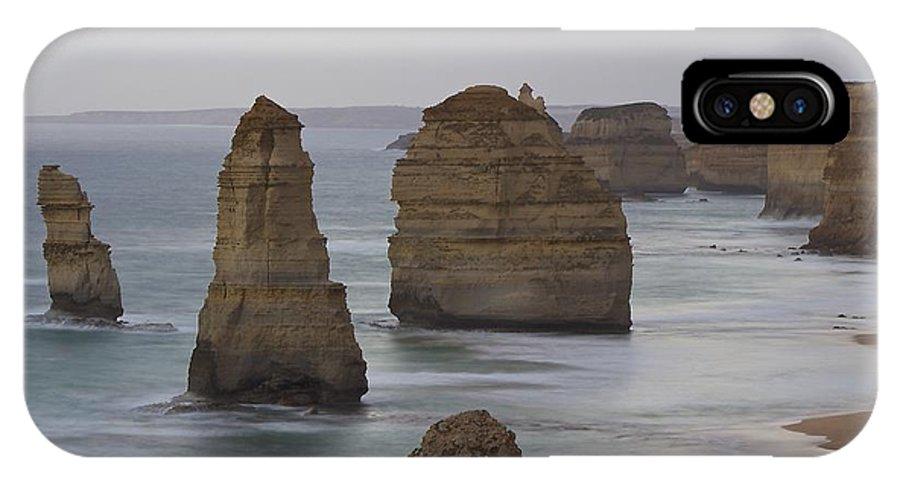 Apollo Bay IPhone X Case featuring the photograph 12 Apostles by Matt Sheumack