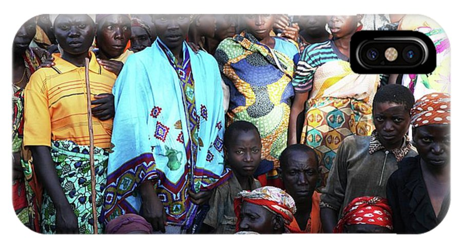 Africa IPhone X Case featuring the photograph Burundi-peace by Ton Koene