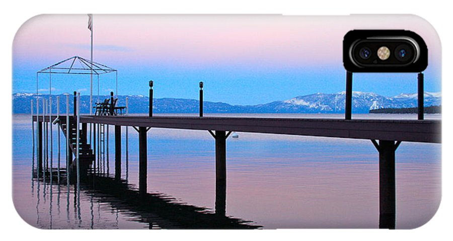 Tahoe IPhone X / XS Case featuring the photograph Lake Tahoe Photography Art by Jessica Johnson