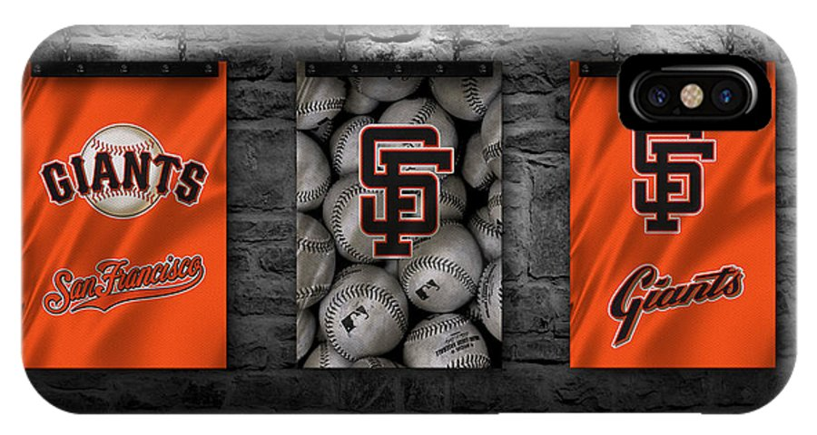 Giants IPhone X Case featuring the photograph San Francisco Giants by Joe Hamilton