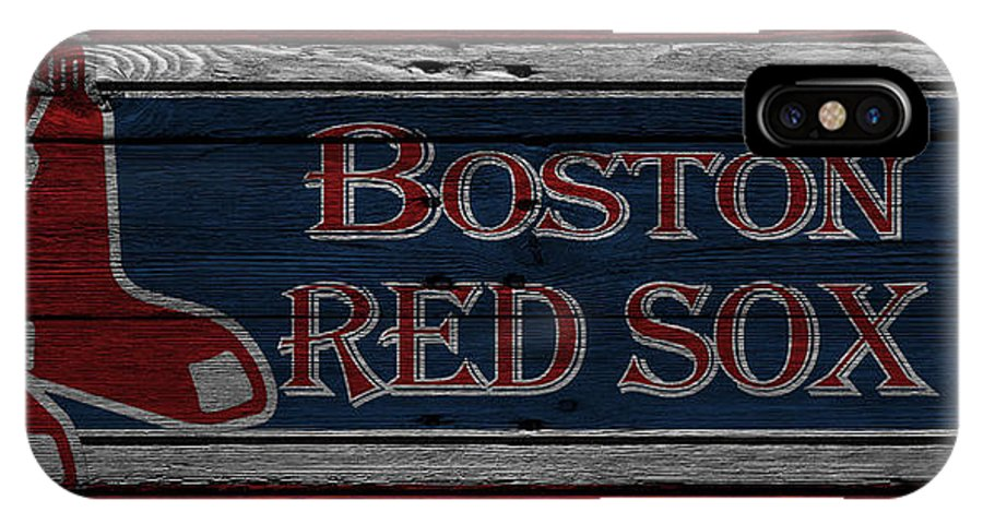 Red Sox IPhone X Case featuring the photograph Boston Red Sox by Joe Hamilton