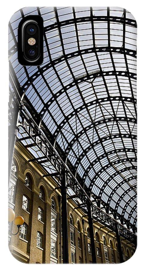 Hays Galleria IPhone X / XS Case featuring the photograph Hay's Galleria London by David Pyatt
