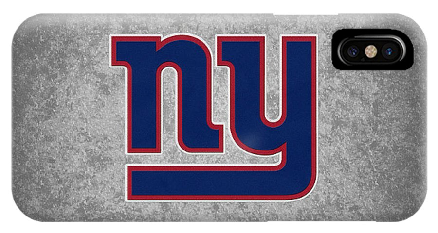 Giants IPhone X Case featuring the photograph New York Giants by Joe Hamilton