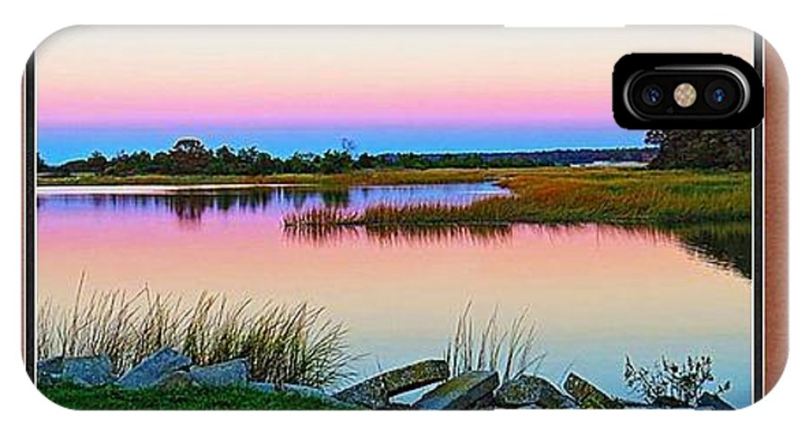 Sunset IPhone X Case featuring the photograph Only Sample Please Select The Picture Next To This One To Order Frame And Size by DVP Artography