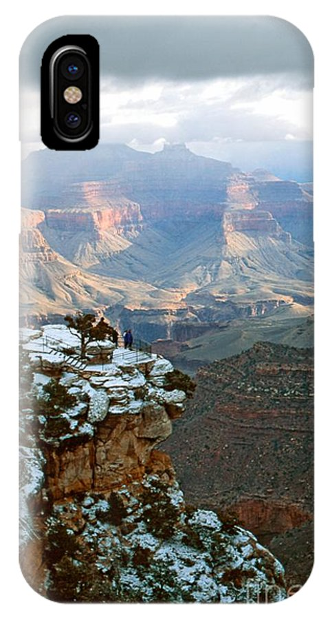 Advertising IPhone X Case featuring the photograph Grand Canyon by Charles Haire