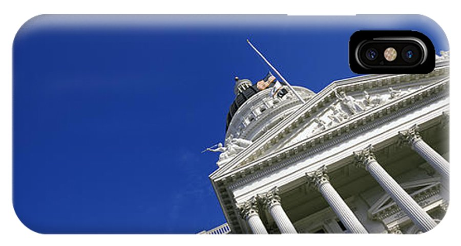 Photography IPhone X Case featuring the photograph Low Angle View Of A Government by Panoramic Images