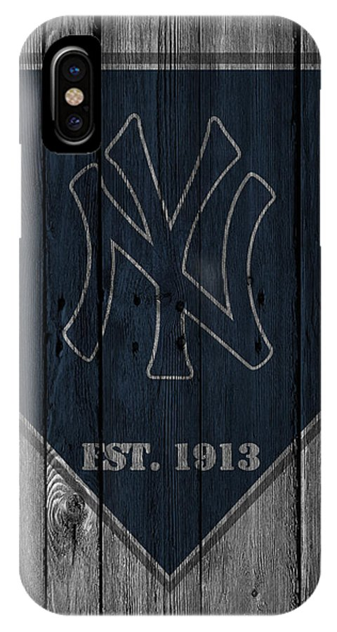 Yankees IPhone X Case featuring the photograph New York Yankees by Joe Hamilton