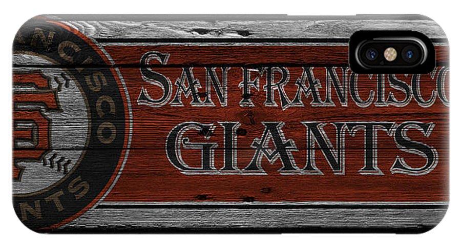 Giants IPhone X Case featuring the photograph San Francisco Giants 18 by Joe Hamilton