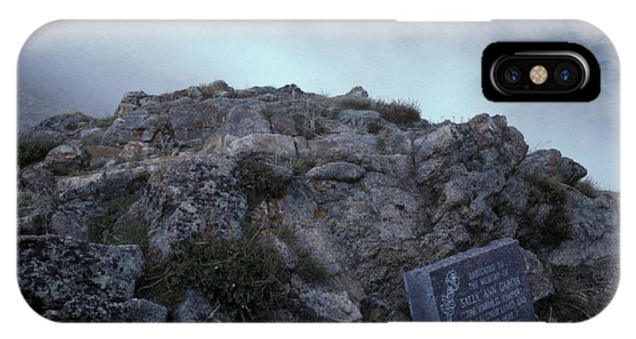 Alpine IPhone X Case featuring the photograph Colorado Rockies by Scott Warren