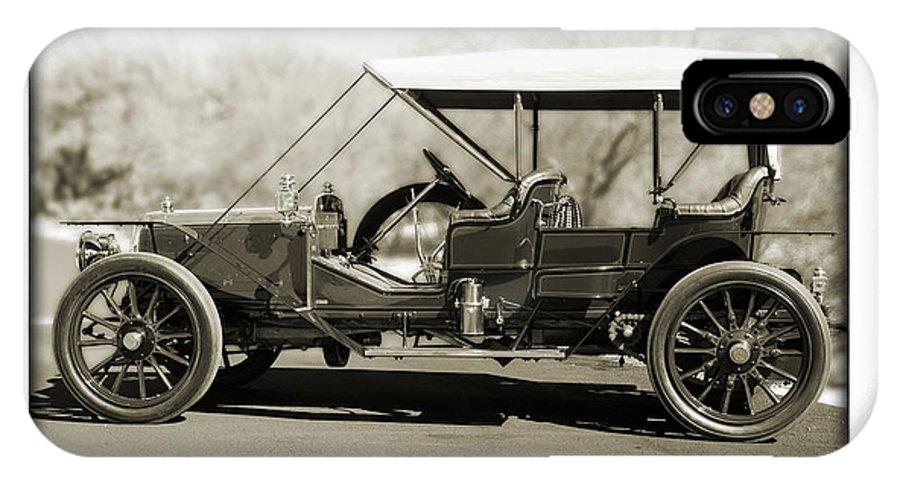 1907 Panhard Et Levassor IPhone X Case featuring the photograph 1907 Panhard Et Levassor by Jill Reger