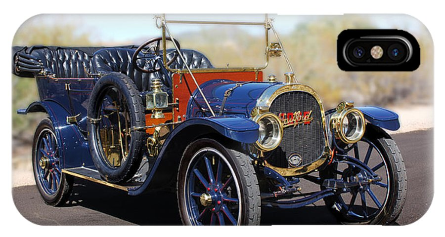 1910 Pope Hartford Model T IPhone X Case featuring the photograph 1910 Pope Hartford Model T by Jill Reger