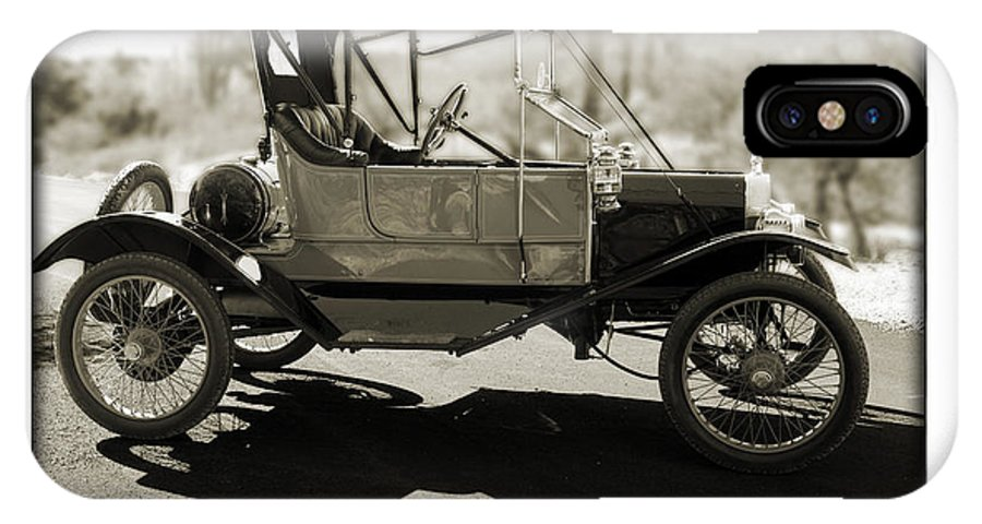 1911 Ford Model T Torpedo IPhone X Case featuring the photograph 1911 Ford Model T Torpedo by Jill Reger