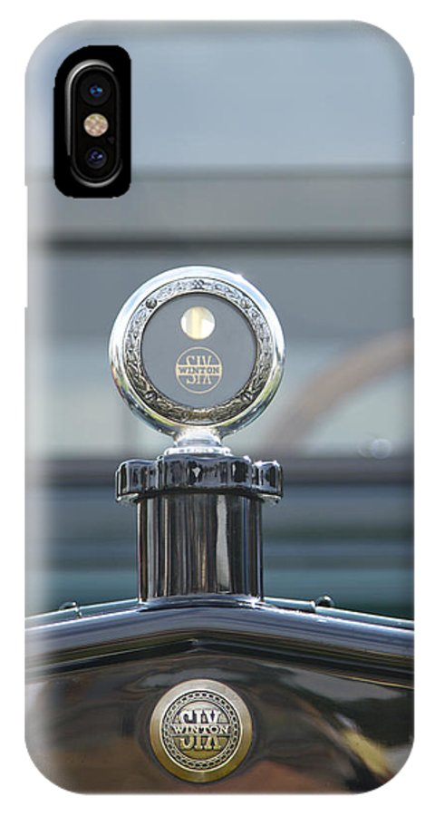 1917 IPhone X Case featuring the photograph 1917 Winton Six by Jack R Perry