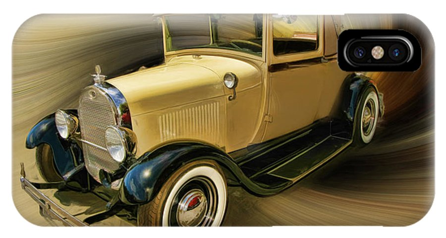 1929 Ford IPhone X Case featuring the photograph 1929 Ford by Blake Richards
