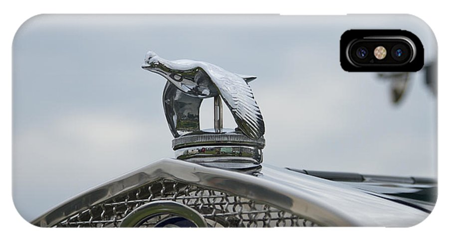 Glenmoor IPhone X Case featuring the photograph 1930 Ford Model A by Jack R Perry