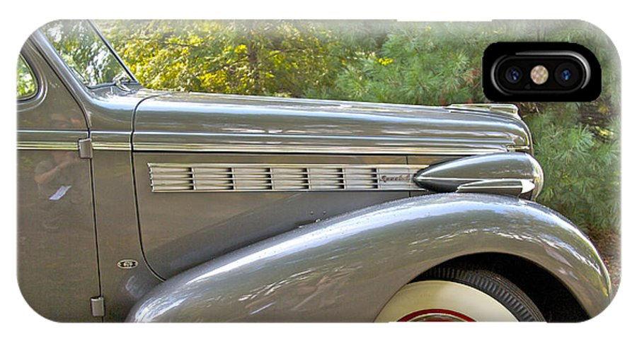 Antique IPhone X Case featuring the photograph 1938 Buick Special by Jack R Perry