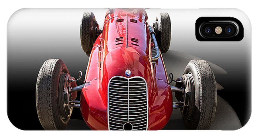 Auto IPhone X Case featuring the photograph 1939 Maserati 8ctf Race Car by Dave Koontz