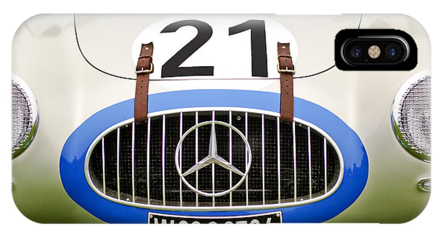 1952 Mercedes-benz W194 Coupe IPhone X Case featuring the photograph 1952 Mercedes-benz W194 Coupe by Jill Reger