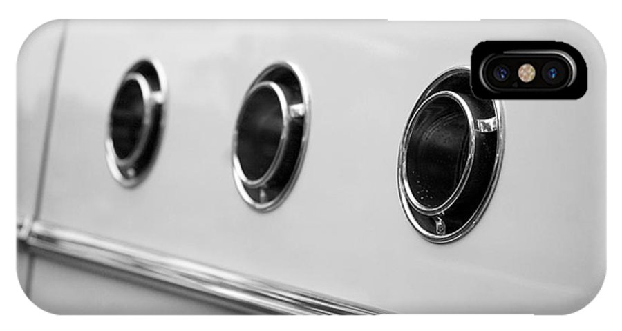 1955 Buick Special Photographs IPhone X / XS Case featuring the photograph 1955 Buick Special Side Air Vents by Brooke Roby