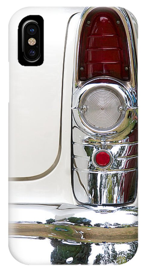 1955 Buick Special Photographs IPhone X / XS Case featuring the photograph 1955 Buick Special Tail Light by Brooke Roby
