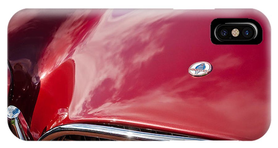1964 Shelby 289 Cobra Grille IPhone X Case featuring the photograph 1964 Shelby 289 Cobra Grille -0840c by Jill Reger