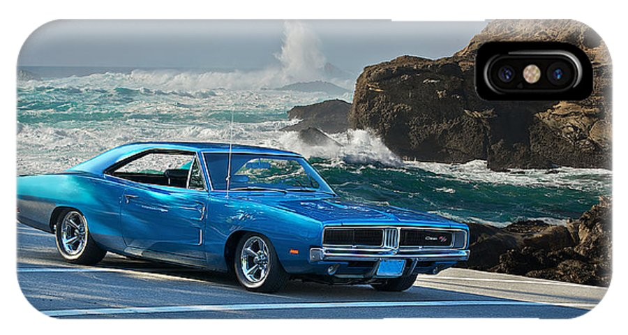 Dodge Charger Rt For Sale >> 1969 Dodge Charger Rt At Oceanside Iphone X Case
