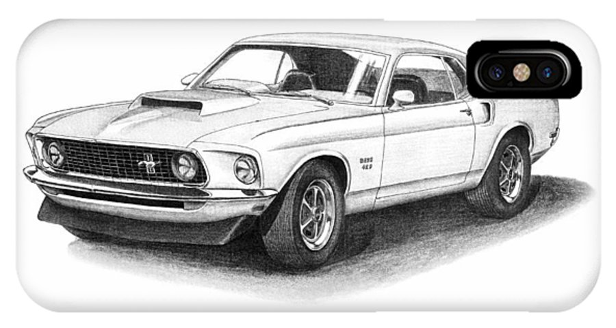 Mustang Boss 429 For Sale >> 1969 Ford Mustang Boss 429 Iphone X Case