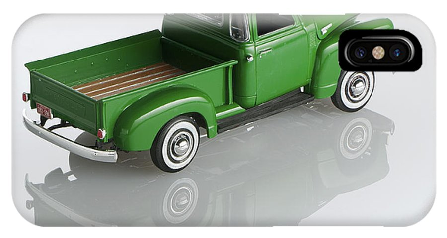1951 Chevy Pick-up IPhone X Case featuring the photograph 1951 Chevy Pick-up by Robert Mollett