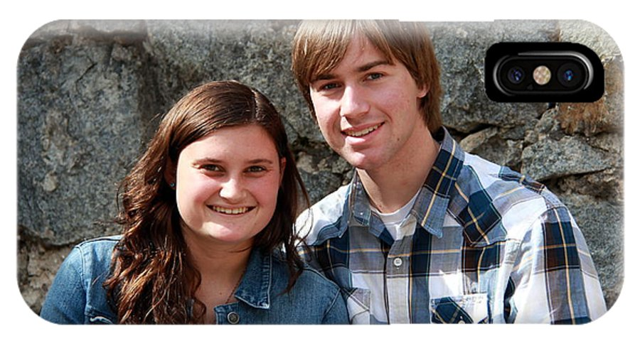 Andrew And Jessa Senior Photos IPhone X Case featuring the photograph 36 by Randy Wehner Photography