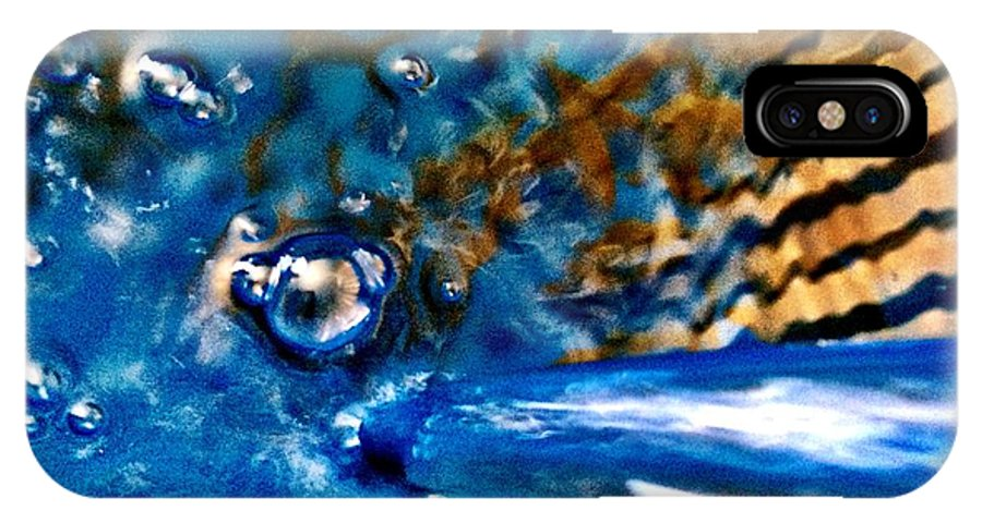 Water IPhone X Case featuring the photograph Abstract by Michele Monk