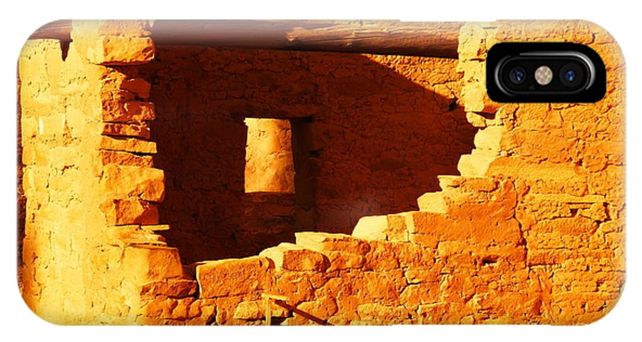 Architecture IPhone X Case featuring the photograph Anasazi Ruins by Jeff Swan