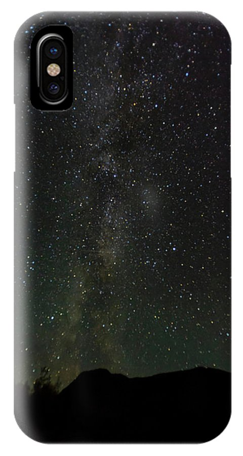 Photography IPhone X Case featuring the photograph Aurora Borealis, Kantishna, Alaska by Panoramic Images