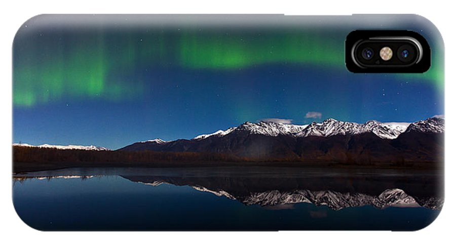 IPhone X Case featuring the photograph Auroras by Richard Jack-James