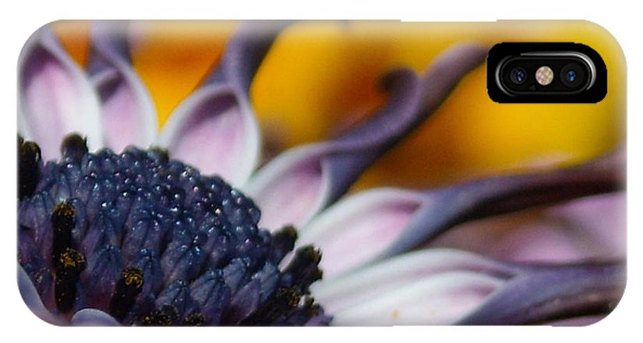 Flower IPhone X Case featuring the photograph Beautiful by Line Gagne