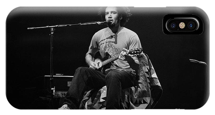 Musician IPhone X Case featuring the photograph Ben Harper by Concert Photos