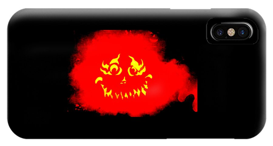 Halloween Photo IPhone X Case featuring the photograph BOO by Tom Prendergast