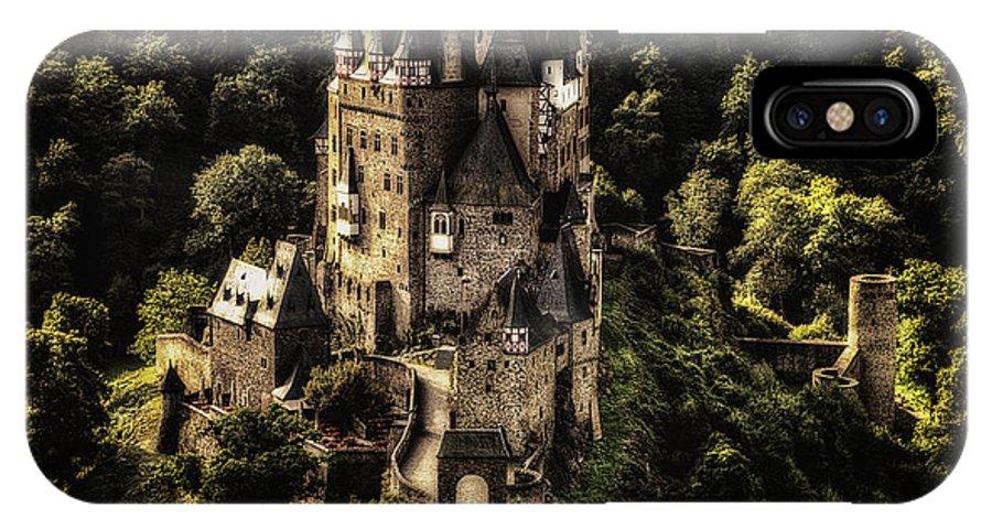 Burg Eltz IPhone X Case featuring the photograph Burg Eltz by Ryan Wyckoff