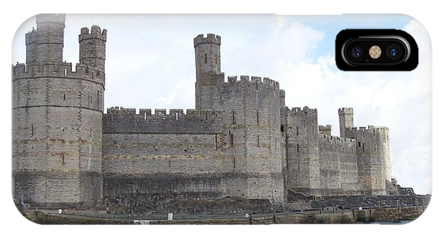 Castles IPhone Case featuring the photograph Caernarfon Castle by Christopher Rowlands