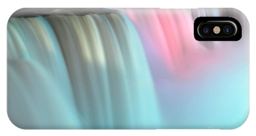 White IPhone X Case featuring the photograph Colors by Kathleen Struckle
