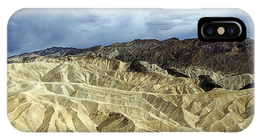 Death Valley IPhone X Case featuring the photograph Death Valley by Peter Lloyd